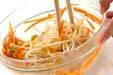 豆モヤシの2色ナムルの作り方5