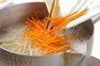 豆モヤシの2色ナムルの作り方4