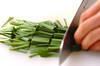キャベツオイスター炒めの作り方の手順3
