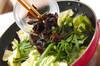 キャベツオイスター炒めの作り方の手順5