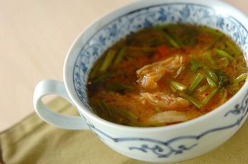 キムチのみそスープ