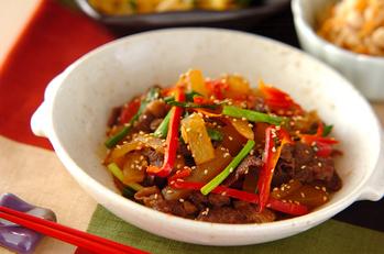 牛肉と大根の韓国風煮込み