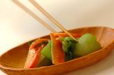 チンゲンサイのガーリック炒めの作り方3