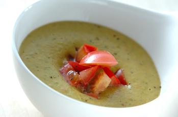 アボカドとトマトのサッパリ&クリーミースープ