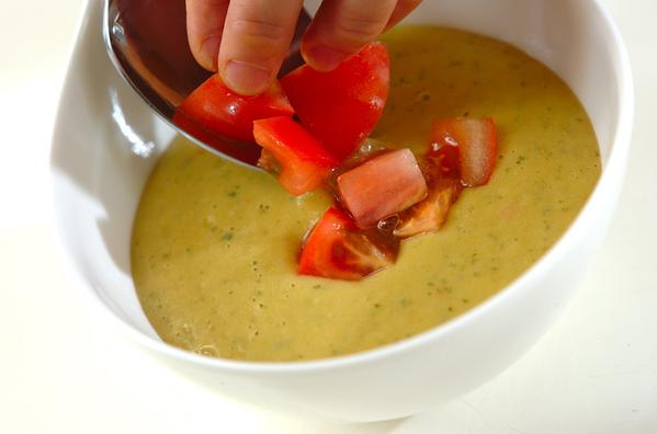 3.  アボカドとトマトのサッパリ&クリーミースープ