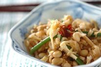 大豆と切干し大根の煮物