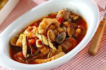 たっぷり魚介のスープ