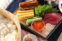 いろいろ手巻き寿司