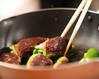 ピーマンの肉詰めトマト煮の作り方の手順6