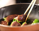 ピーマンの肉詰めトマト煮の作り方3