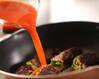 ピーマンの肉詰めトマト煮の作り方の手順7