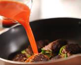 ピーマンの肉詰めトマト煮の作り方7