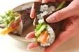 手巻き寿司の作り方3