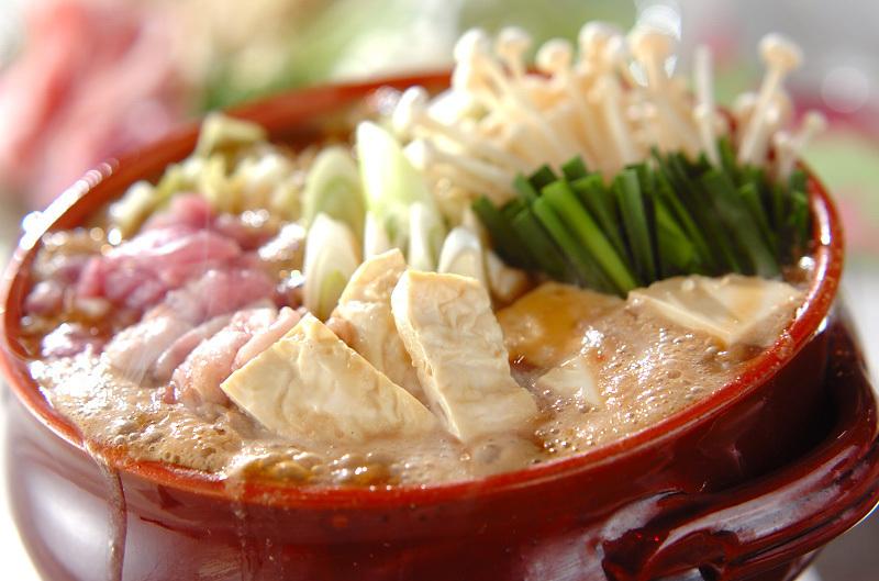 3. 杜仲茶と豆乳のコラーゲン鍋