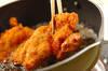 チキンのソースカツ丼の作り方の手順5