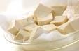 ウナギと豆腐の炒め煮の下準備2