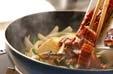 ウナギと豆腐の炒め煮の作り方2