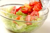 素麺パリパリハーブサラダの作り方2