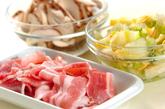 白菜漬けのあんかけにゅうめんの作り方1