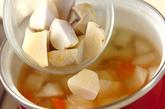 里芋の具だくさん汁の作り方2