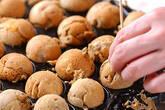 きな粉の丸いケーキの作り方6