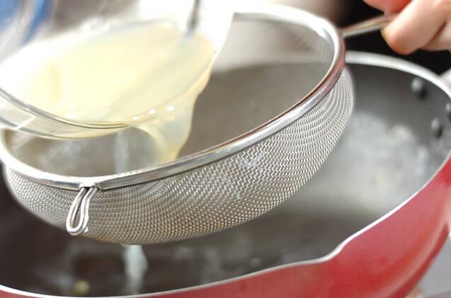 アサリとキャベツの酒蒸しの作り方の手順4