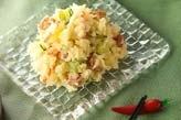 リンゴポテトサラダ