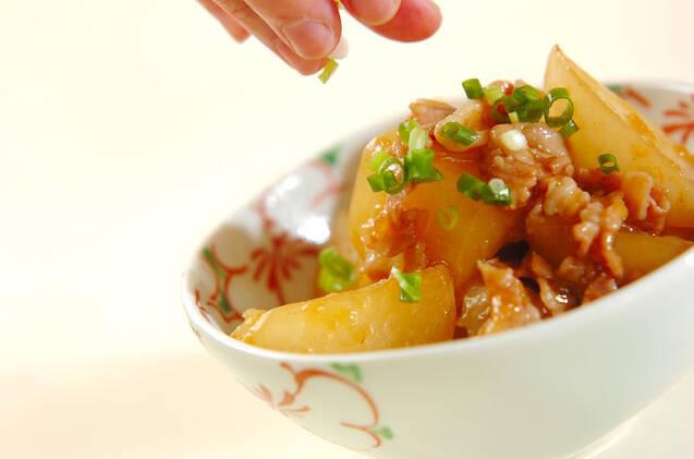 大根と豚肉のピリ辛煮の作り方の手順9
