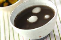 黒ゴマ汁粉