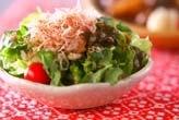 ミツバとジャコのサラダ