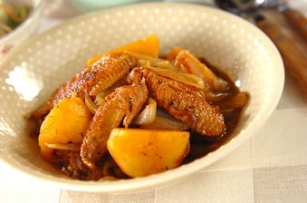 手羽先とゴロゴロ野菜の塩煮