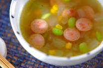 枝豆スープ