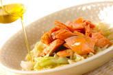 鮭とキャベツの酒蒸の作り方4