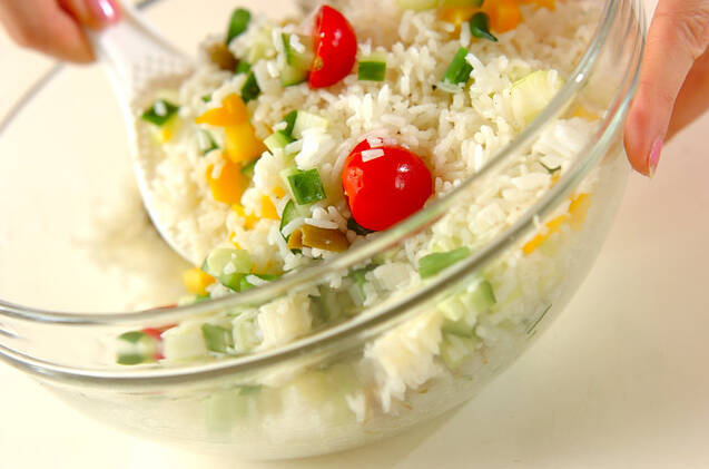 ライスサラダの作り方の手順6