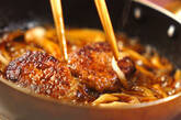 照り焼きハンバーグの作り方3