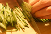 冷奴の夏サラダのっけの作り方2