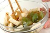 刺身コンニャクのサッパリ和えの作り方5