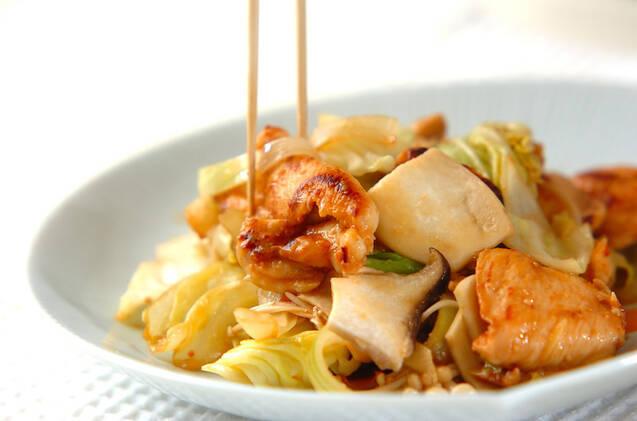 鶏むね肉のピリ辛みそ炒めの作り方の手順3