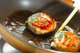 鶏と豆腐のつくね丼弁当の作り方7