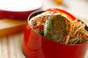 鶏と豆腐のつくね丼弁当