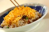 アナゴの蒸し寿司の作り方3