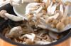 キノコの炊き込みご飯の作り方の手順10