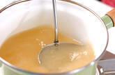 インゲンの卵スープの作り方3
