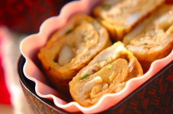 マッシュ里芋の卵焼き