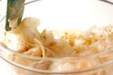 冬瓜のゴマ酢の作り方2
