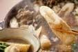 きりたんぽ風鍋の作り方3