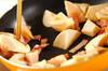 タケノコのバターじょうゆ炒めの作り方の手順3
