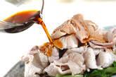 しろ菜と豚肉の夏おかずの作り方3