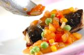 焼き塩サバの野菜ダレの作り方2