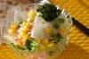 大根の彩りサラダの作り方の手順